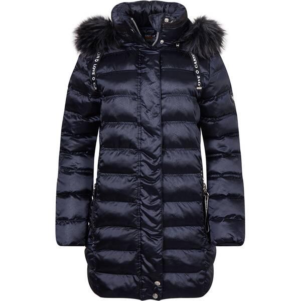 CANYON Damen Jacke Damenmantel mit Kunstpelz