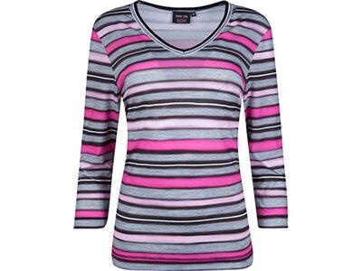 CANYON Damen T-Shirt 3/4 Arm Grau