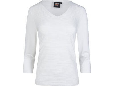 CANYON Damen T-Shirt 3/4 Arm Weiß