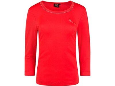 CANYON Damen T-Shirt 3/4 Arm Rot