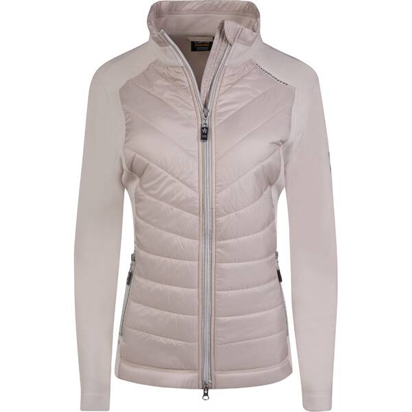 CANYON Damen Hybridjacke Fleece/Web
