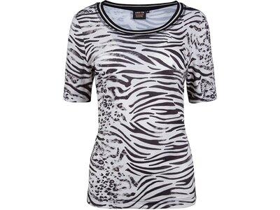 Damen T-Shirt 1/2 Arm Schwarz