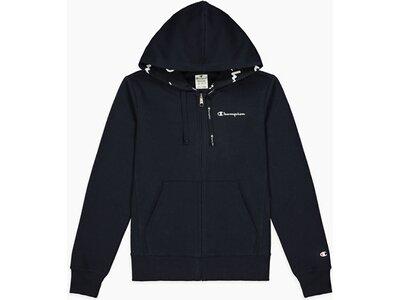 CHAMPION Damen Hooded Full Zip Sweatshirt Schwarz
