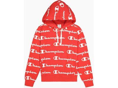 CHAMPION Damen Hooded Sweatshirt Rot