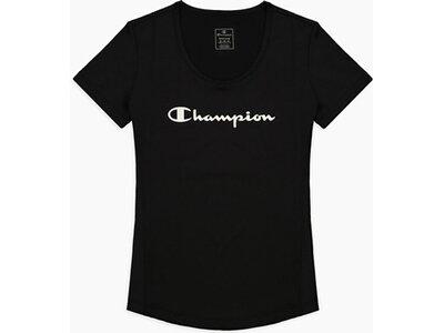 CHAMPION Damen Shirt Crewneck Schwarz