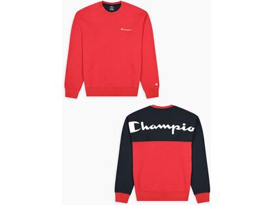 CHAMPION Herren Crewneck Sweatshirt Rot