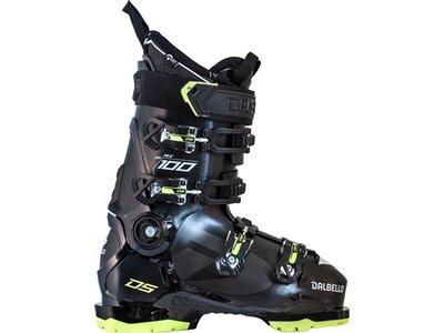DALBELLO Herren Skischuhen DS AX 100 GW MS BLACK/ACID GREEN Schwarz
