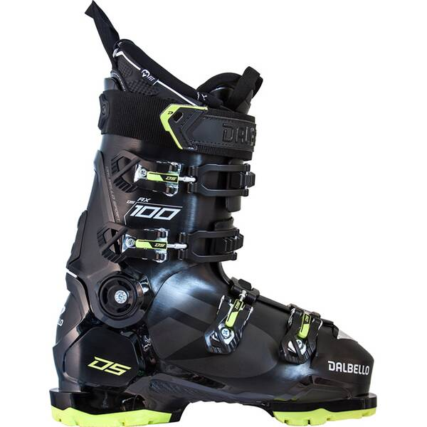 DALBELLO Herren Skischuhen DS AX 100 GW MS BLACK/ACID GREEN