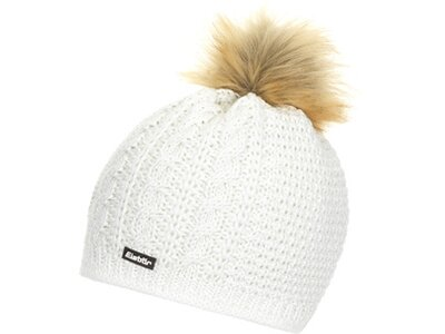 EISBÄR Damen Mütze Nelia Lux MÜ Weiß