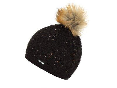 EISBÄR Damen Mütze Navina Lux Braun