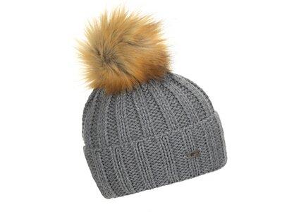 EISBÄR Damen Mütze Jolo Lux Grau
