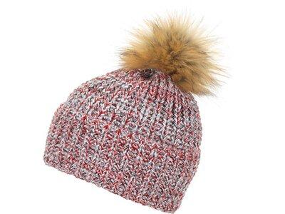 EISBÄR Damen Mütze Felia Lux Grau