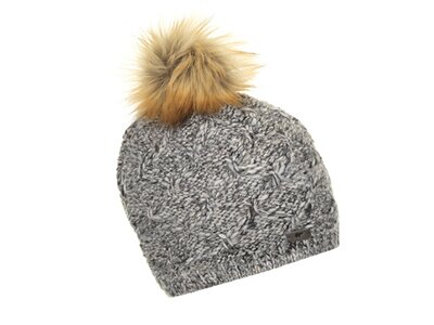 EISBÄR Damen Kira Lux Mütze Grau