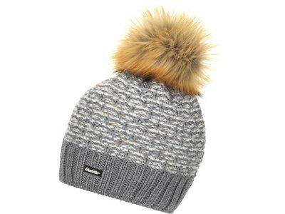 EISBÄR Damen Pansy Lux Mütze Grau