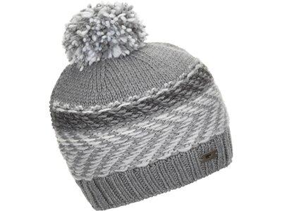 EISBÄR Herren Soraya Pompon Mütze Grau