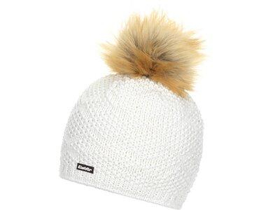 EISBÄR Damen Cross Lux Mütze Weiß