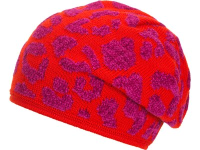 EISBÄR Damen Cheetah OS Mütze Rot
