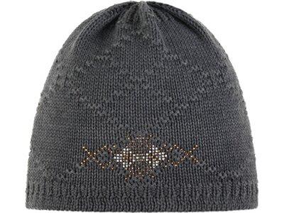 EISBÄR Damen Mütze Neska OS Crystal MÜ Grau
