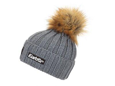 EISBÄR Damen Jolo Lux Crystal Mütze Grau