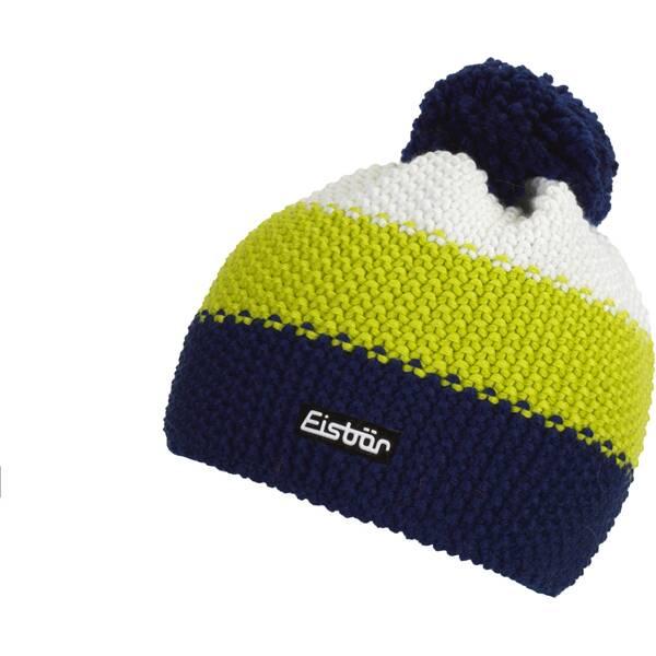 EISBÄR Mütze Star Pompon MÜ | Accessoires > Mützen > Bommelmützen | Lime - White | EISBÄR