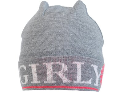 EISBÄRLI Kinder OS Mütze Grau