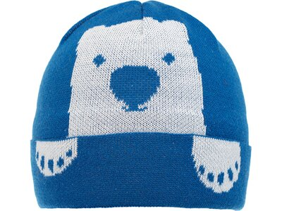 EISBÄRLI Kinder Winnie Mütze Blau
