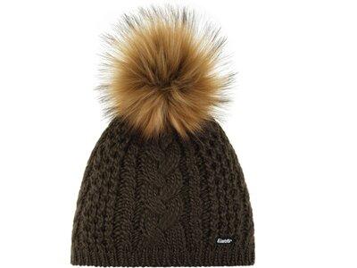 EISBÄR Damen Mütze Afra Lux MÜ Braun