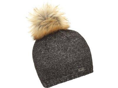 EISBÄR Damen Elma Lux Crystal Mütze Grau