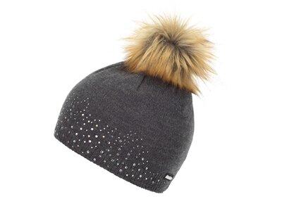 EISBÄR Damen Nalin Lux Crystal Mütze Grau