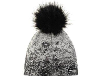 EISBÄR Damen Mütze Winter Lux Crystal MÜ Grau