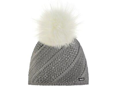 EISBÄR Damen Mütze Sita Lux Crystal MÜ Grau