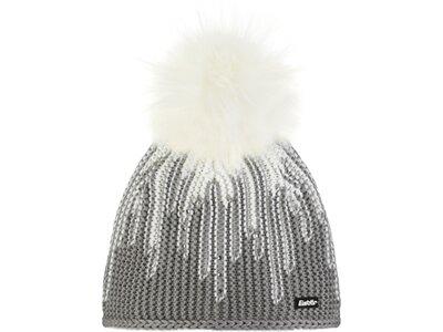 EISBÄR Damen Mütze Colby Lux Crystal MÜ Silber