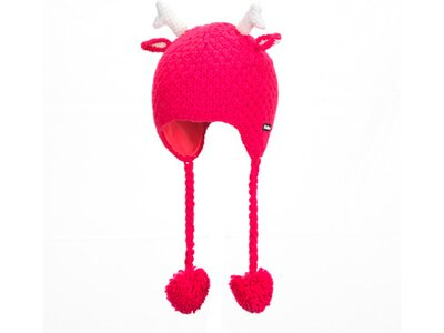 EISBÄRLI Kinder Deer Ear Mütze Rot