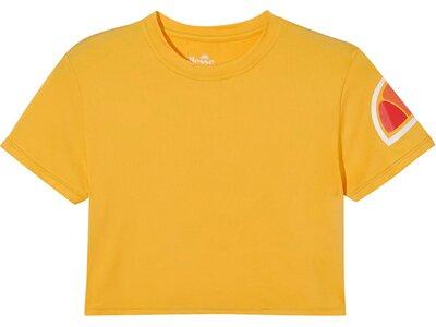 ELLESSE Damen Hepburn Crop T-Shirt Gelb
