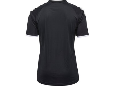 HUMMEL T-Shirt CORE STRIPED SS JERSEY Grau