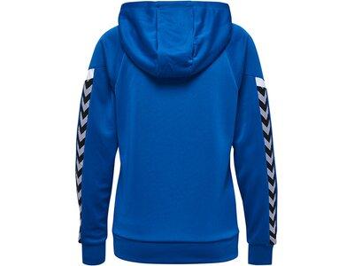 HUMMEL Fußball - Teamsport Textil - Sweatshirts Authentic Charge Kapuzensweat Damen Blau