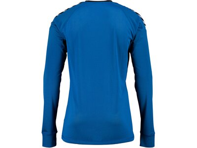 HUMMEL Kinder Trikot AUTH. CHARGE LS POLY JERSEY Blau