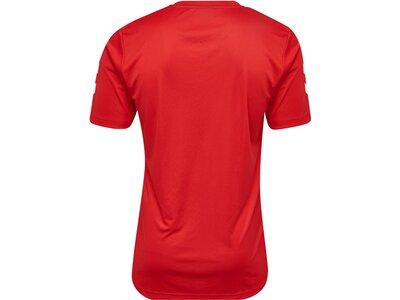HUMMEL Kinder Shirt CORE POLYESTER TEE Rot