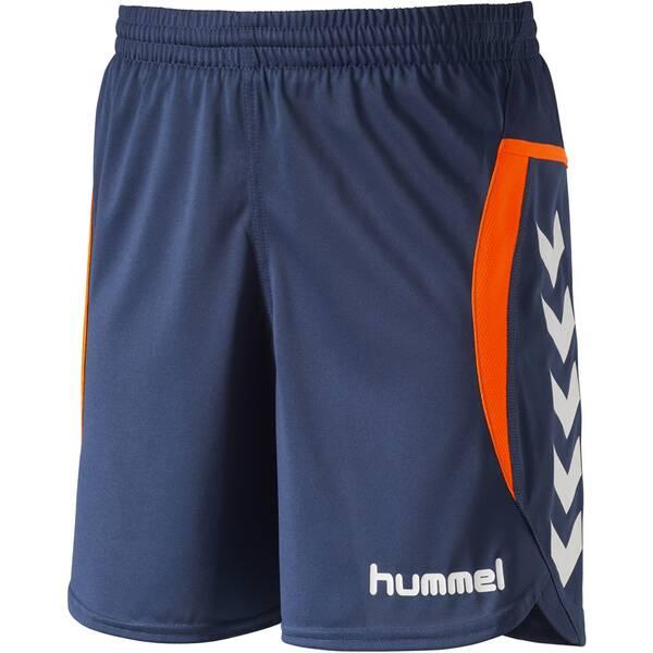 HUMMEL Kinder Teamhose Team Player Poly Shorts Blau