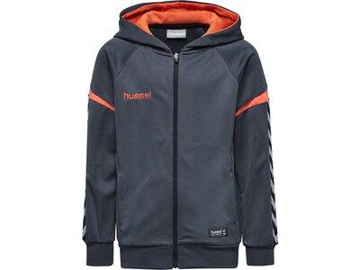 HUMMEL Fußball - Teamsport Textil - Jacken Authentic Charge Kapuzenjacke Kids Grau