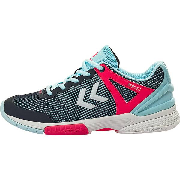 HUMMEL Damen Handballschuhe AEROCHARGE HB180 2.0 WS | Schuhe > Sportschuhe > Handballschuhe | Aqua | HUMMEL