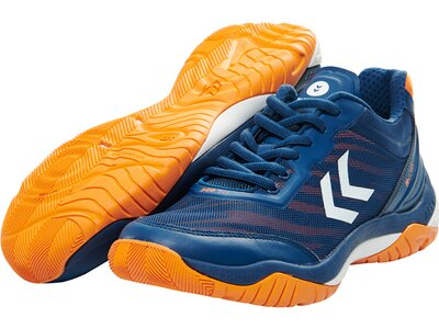 HUMMEL Handball DUAL PLATE SKILL TROPHY POSEIDON Blau