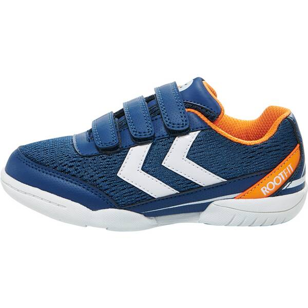 HUMMEL Kinder Turnschuhe ROOT JR VC 2.0 TROPHY   POSEIDON