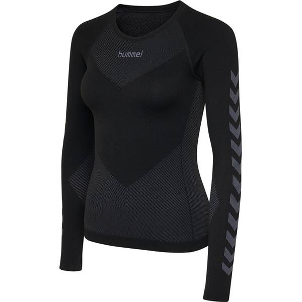 HUMMEL Damen Hemd HUMMEL FIRST SEAMLESS JERSEY L/S WOMAN