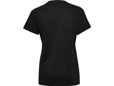 HUMMEL Damen T-Shirt GO COTTON LOGO Schwarz