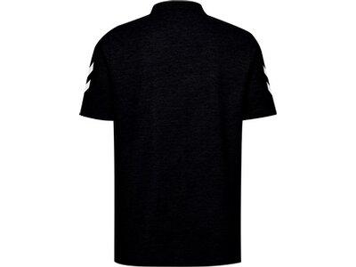 HUMMEL Fußball - Teamsport Textil - Poloshirts Cotton Poloshirt Schwarz