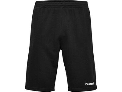 HUMMEL Herren Shorts GO COTTON Schwarz