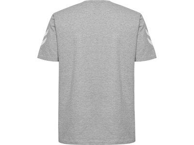 HUMMEL Herren T-Shirt GO COTTON Silber