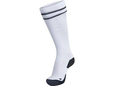 HUMMEL Herren ELEMENT FOOTBALL SOCK Weiß