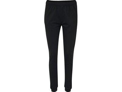 HUMMEL Fußball - Teamsport Textil - Hosen Cotton Pant Jogginghose Damen Schwarz